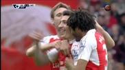 Арсенал направи преднината си класическа над Уотфорд