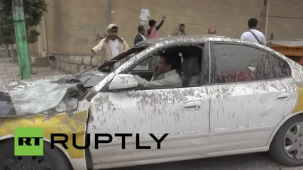Yemen: Saudi-led airstrikes hit residential area hit in Sanaa