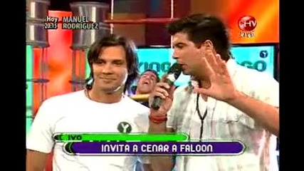 13.04.2010 Reality Show In Chile Yingo с участието на Evailo - Част 2