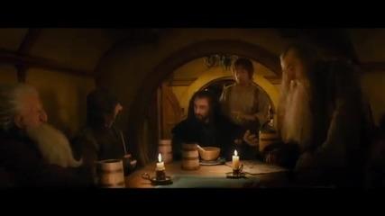 """Хобит: Неочаквано пътешествие - откъс от филма """"споразумението"""""""