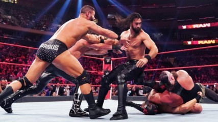 Rollins, Strowman, Alexander & Viking Raiders vs. Roode, Ziggler & The OC: Raw, Sept. 10, 2019