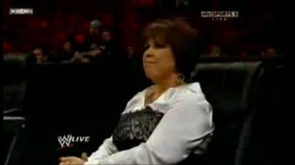 Raw Edge и Ted Dibiase срещу Randy Orton . 2 срещу 1.. Хендикап мач .. 10.05.10