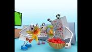 великденската реклама на магазини Jumbo с мечето Gummy bear