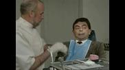 мистър бийн на зъболекар