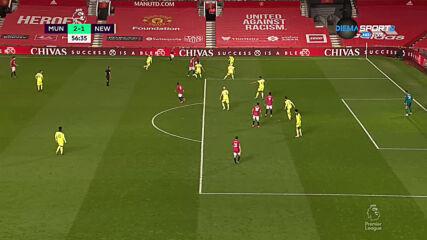 Юнайтед отново поведе срещу Нюкасъл