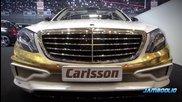Злато и платина - Mercedess- S class Carlsson Cs50 Geneva 2014