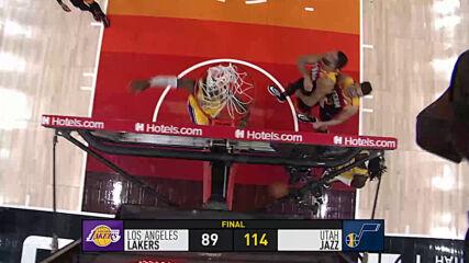 Юта пречупи Лейкърс, вижте най-интересното от изминалата нощ в НБА