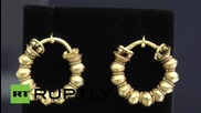 UK: These 3500-year old Egyptian earrings are fit for a Queen!