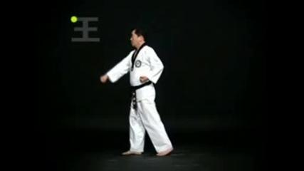 Taegeuk Il Jang - 1-во пумсе таекуон-до