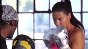 Тренировката на Адриана Лима