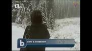 Първи сняг в Словения 18.10.10
