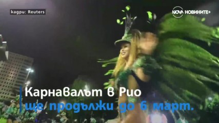 Пищно шоу на карнавала в Рио и 1500 контрабандни костенурки на летище