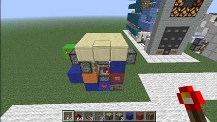 Minecraft Block Swapper (hidden Craft. table or whatever) Tutorial (kak da si napravim)