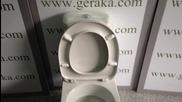 Тоалетна чиния Видима Korona