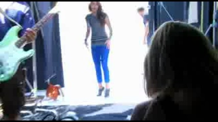 Miley Cyrus - Behind The Scenes of Clothing Line Photoshoot - Hq