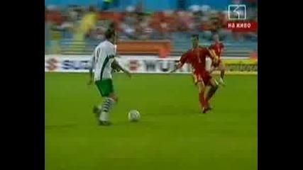 Черна Гора - България 2:2 (06.08.08)