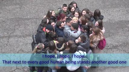 Ден на прегръдката в град Русе, 21.01.2014, репортер Теодора Тошева, Мг