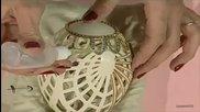 Карвинг и декориране на дантелени яйца