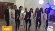 УНИКАЛНА хореография за скъпи приятели