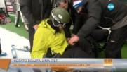 За първи път - българин в инвалидна количка кара ски