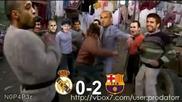 Futbolistite na Barselona igraiat kiuchek