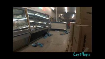 Jackass 2.5 Малки мотори във Супермаркет