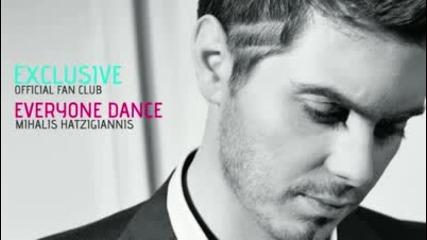 [ New Song] 2010 Mixalis Xatzigiannis - Everyone Dance