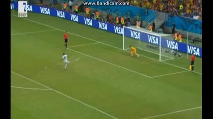 Мондиал 2014 - Коста Рика 1:1(6:4)-дузпи Гърция - Одисеята на Коста Рика в Бразилия продължава!