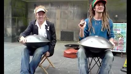 Hang Drum - Отново таланти на улицата ..