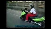 Скутер с NOS система