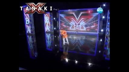 Страхотно изпълнение - X - Factor България 12.09.11