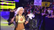 Wwe |raw| 06/14/10 ~ Eve & Gail Kim vs Alicia Fox & Maryse