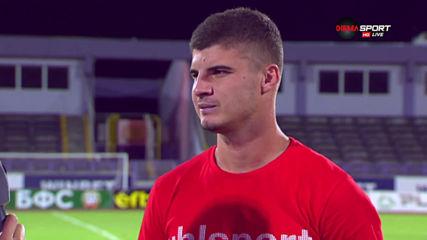 Георги Минчев: Хубав гол се получи, можем да изненадаме всеки