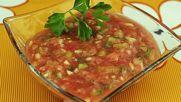 "Разхлаждаща супа ""Гаспачо"""