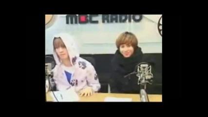 [radio] 100107 Mbc R Shimshimtapa Shinee Taemin & Key (funny & cute cut)
