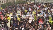 Iran: Protesters burn US and Israeli flags over Trump Jerusalem decision
