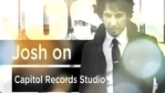 Josh Groban - Josh On Capitol Records Studio (Web Clip) (Оfficial video)