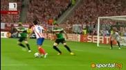 Фалкао изведе Атлетико Мадрид до триумф в Лига Европа - Атлетико Мадрид - Атлетик Билбао 3:0