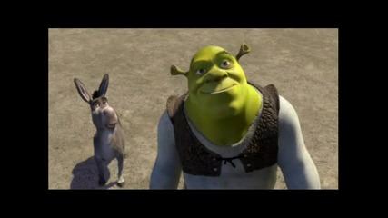 Най - яките изцепки в Shrek част 2 100 % смях
