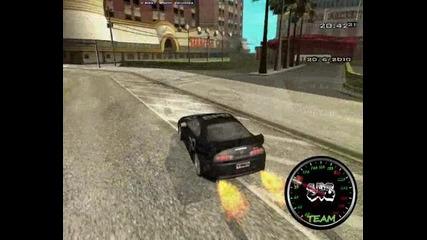 Eazy E Drifting with Toyota supra