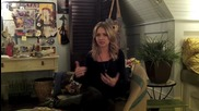 The Secret Circle_ Britt Robertson shows off Cassie's room and teases the other Blackwell child