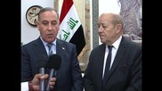 Iraq: French DefMin Le Drian in Baghdad to discuss anti-IS offensive