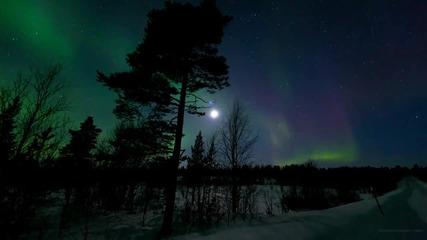 Зашеметяващ видео на северното сияние !