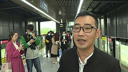 China: Chongqing unveils its first driverless rail transit system