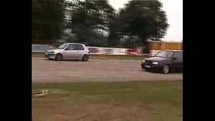 Peugeot 106 Vs. Vw Golf Vr6