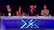 Меlanie Masson`s audition - Janis Joplin`s Cry, Baby - The X factor Uk 2012
