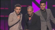 The Wanted печелят наградата Best Breakout Artist - People s Choice Awards 2013