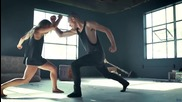 Силно въздействащо изпълнение на танцьори!