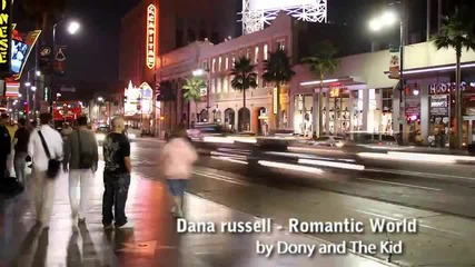 = Румънско= Dana russell - Romantic World ( by Dony )