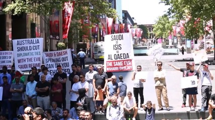 Australia: Protesters condemn execution of Sheikh Nimr in Sydney
